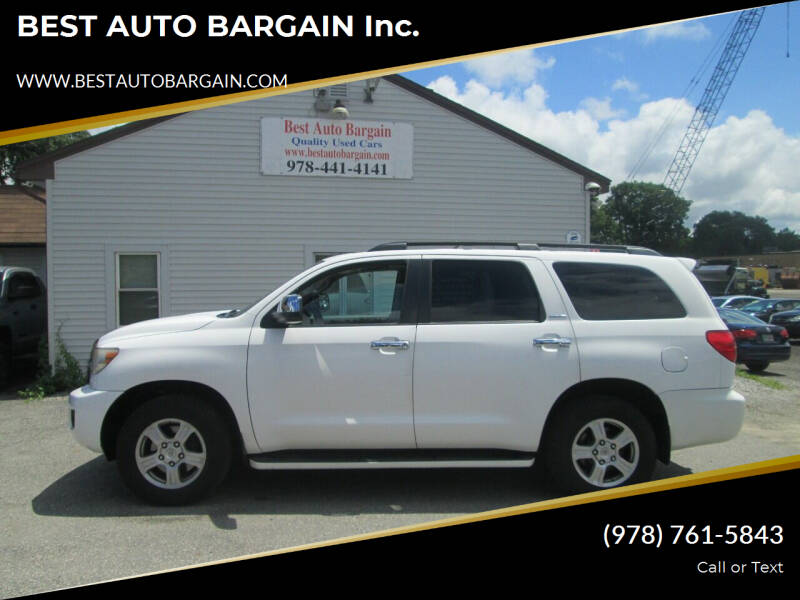 2008 Toyota Sequoia for sale at BEST AUTO BARGAIN inc. in Lowell MA