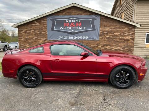 2014 Ford Mustang for sale at Rick's R & R Wholesale, LLC in Lancaster OH