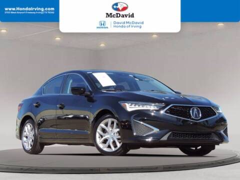 2020 Acura ILX for sale at DAVID McDAVID HONDA OF IRVING in Irving TX