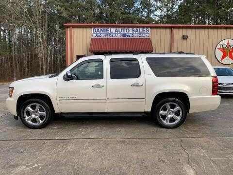 2011 Chevrolet Suburban for sale at Daniel Used Auto Sales in Dallas GA