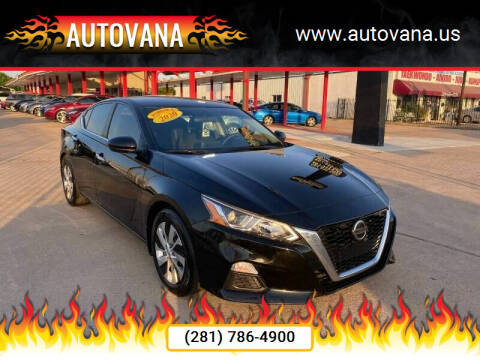 2020 Nissan Altima for sale at AutoVana in Humble TX