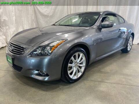 2014 Infiniti Q60 Coupe for sale at Green Light Auto Sales LLC in Bethany CT