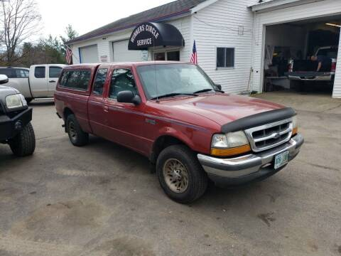 1998 Ford Ranger for sale at Winner's Circle Auto Sales in Tilton NH