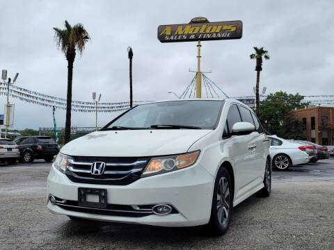 2014 Honda Odyssey for sale at A MOTORS SALES AND FINANCE - 5630 San Pedro Ave in San Antonio TX
