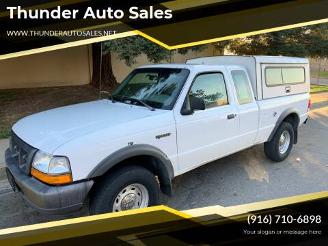 2000 Ford Ranger for sale at Thunder Auto Sales in Sacramento CA