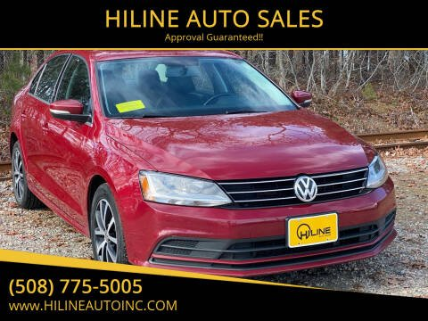 2017 Volkswagen Jetta for sale at HILINE AUTO SALES in Hyannis MA