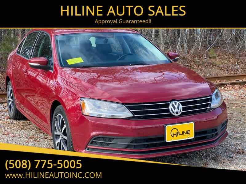 2017 Volkswagen Jetta for sale at HILINE AUTO SALES in Hyannis MA