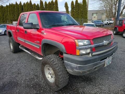 2004 Chevrolet Silverado 2500HD for sale at Universal Auto Sales in Salem OR