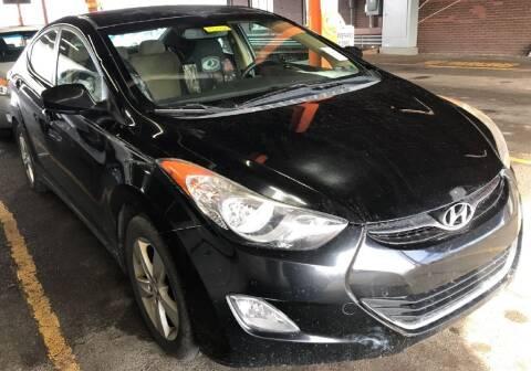 2012 Hyundai Elantra for sale at KRIS RADIO QUALITY KARS INC in Mansfield OH