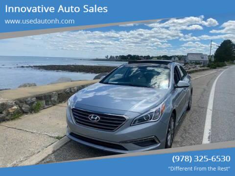 2015 Hyundai Sonata for sale at Innovative Auto Sales in North Hampton NH