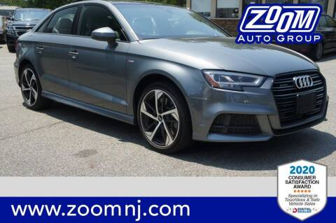 2020 Audi A3 for sale at Zoom Auto Group in Parsippany NJ