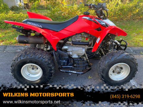 2018 Honda TRX250R for sale at WILKINS MOTORSPORTS in Brewster NY