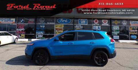2018 Jeep Cherokee for sale at Ford Road Motor Sales in Dearborn MI