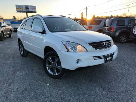 2007 Lexus RX 400h for sale at Mass Motors LLC in Worcester MA