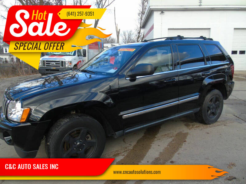2007 Jeep Grand Cherokee for sale at C&C AUTO SALES INC in Charles City IA