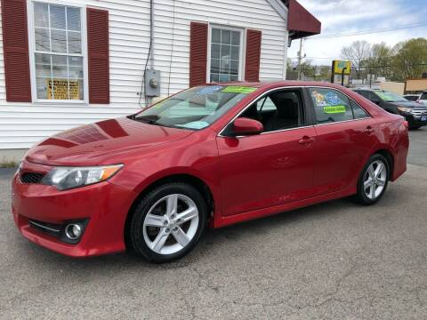 2013 Toyota Camry for sale at Crown Auto Sales in Abington MA