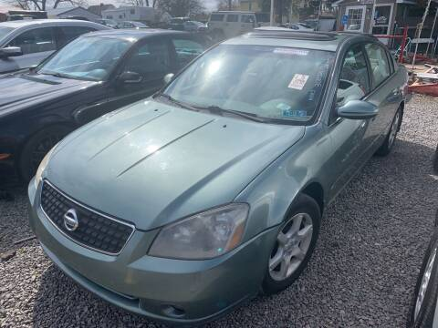 2006 Nissan Altima for sale at Trocci's Auto Sales in West Pittsburg PA