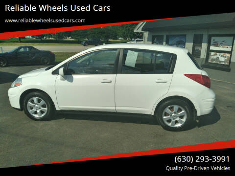 2012 Nissan Versa for sale at Reliable Wheels Used Cars in West Chicago IL
