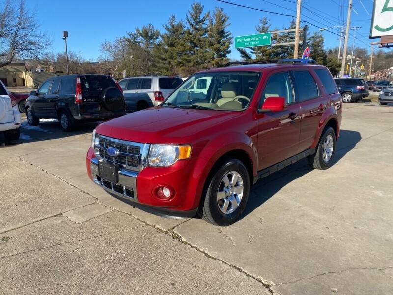 2011 Ford Escape for sale at Wolfe Brothers Auto in Marietta OH