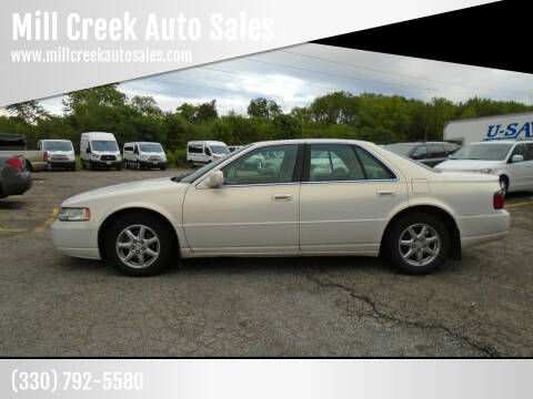 2004 Cadillac Seville for sale at Mill Creek Auto Sales in Youngstown OH