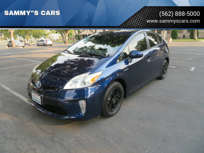 """2012 Toyota Prius for sale at SAMMY""""S CARS in Bellflower CA"""