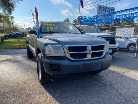 2008 Dodge Dakota for sale at Port City Auto Sales in Baton Rouge LA