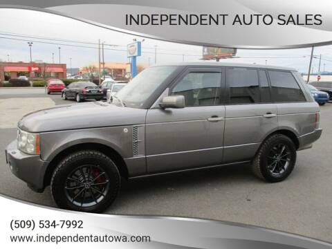 2008 Land Rover Range Rover for sale at Independent Auto Sales in Spokane Valley WA