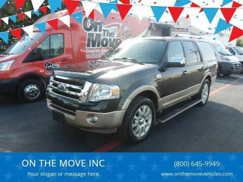 2014 Ford Expedition for sale at ON THE MOVE INC in Boerne TX