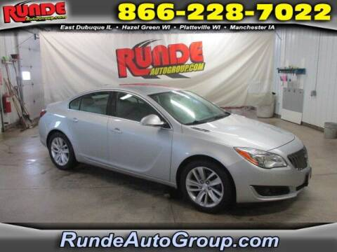 2015 Buick Regal for sale at Runde Chevrolet in East Dubuque IL