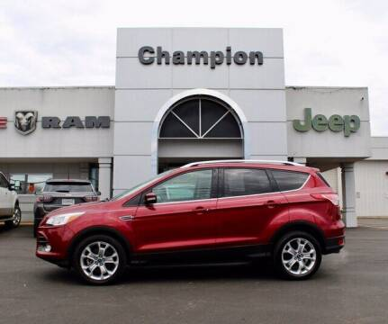 2014 Ford Escape for sale at Champion Chevrolet in Athens AL