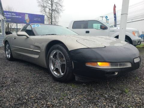 2000 Chevrolet Corvette for sale at Universal Auto Sales in Salem OR