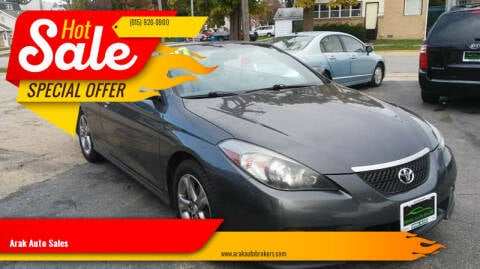 2007 Toyota Camry Solara for sale at Arak Auto Group in Bourbonnais IL