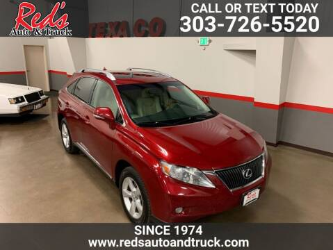 2010 Lexus RX 350 for sale at Red's Auto and Truck in Longmont CO