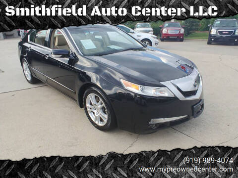 2009 Acura TL for sale at Smithfield Auto Center LLC in Smithfield NC