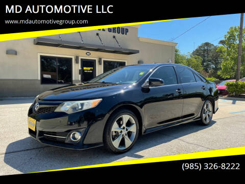 2012 Toyota Camry for sale at MD AUTOMOTIVE LLC in Slidell LA