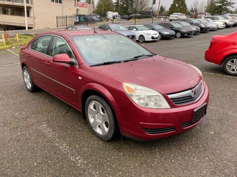 2007 Saturn Aura for sale at KARMA AUTO SALES in Federal Way WA