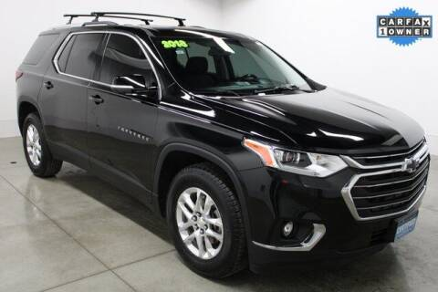 2018 Chevrolet Traverse for sale at Bob Clapper Automotive, Inc in Janesville WI
