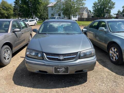 2005 Chevrolet Impala for sale at Nelson's Straightline Auto - 23923 Burrows Rd in Independence WI