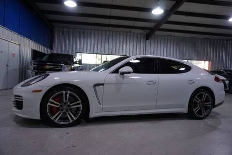 2014 Porsche Panamera for sale at SOUTHWEST AUTO CENTER INC in Houston TX