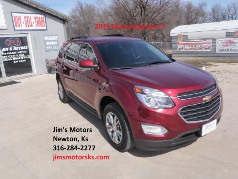 2016 Chevrolet Equinox for sale at Jim's Motors in Newton KS