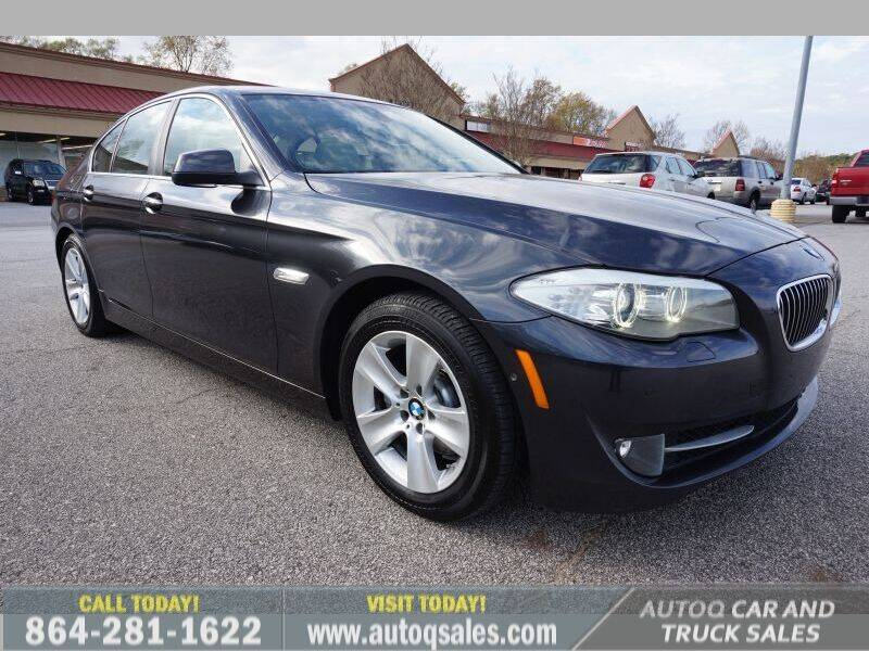 2013 BMW 5 Series for sale at Auto Q Car and Truck Sales in Mauldin SC