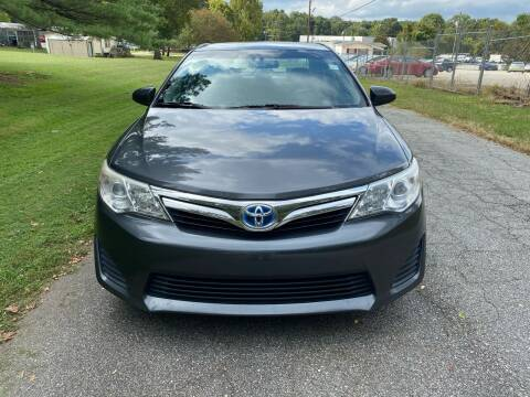 2012 Toyota Camry Hybrid for sale at Speed Auto Mall in Greensboro NC