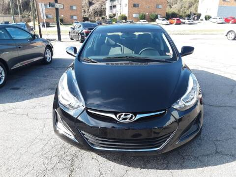 2016 Hyundai Elantra for sale at Auto Villa in Danville VA
