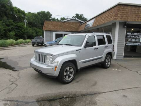 2008 Jeep Liberty for sale at Millbrook Auto Sales in Duxbury MA