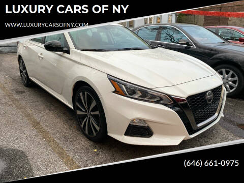 2019 Nissan Altima for sale at LUXURY CARS OF NY in Queens NY