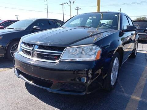 2014 Dodge Avenger for sale at Auto Plaza in Irving TX