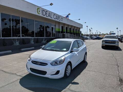 2017 Hyundai Accent for sale at Ideal Cars in Mesa AZ