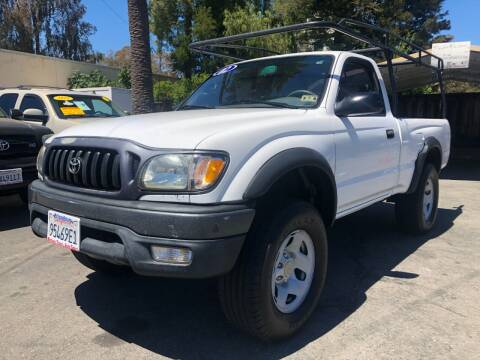 2002 Toyota Tacoma for sale at Martinez Truck and Auto Sales in Martinez CA