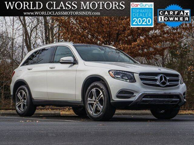 2017 Mercedes-Benz GLC for sale at World Class Motors LLC in Noblesville IN