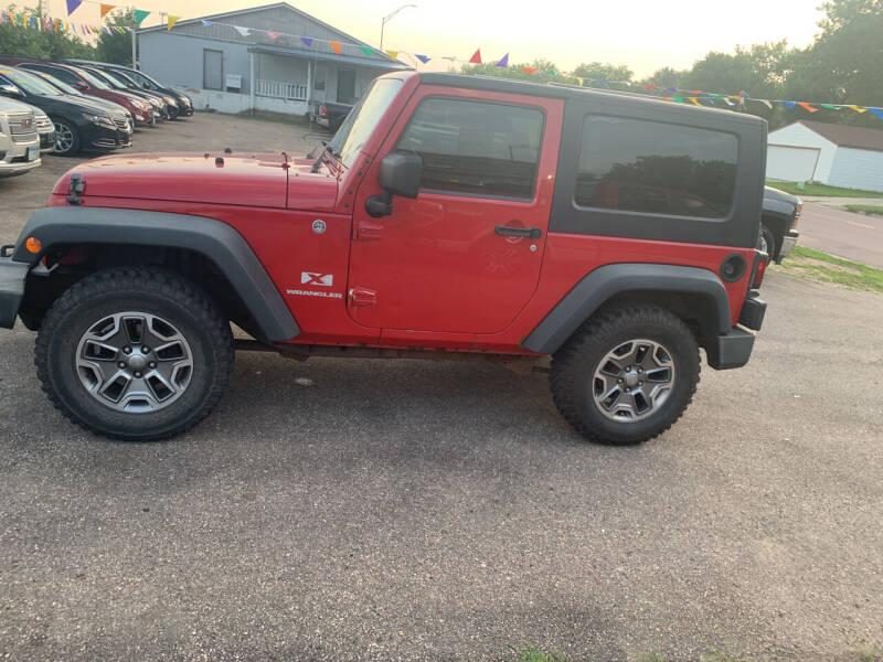 2008 Jeep Wrangler for sale at Los Arreglados Auto Sales in Worthington MN